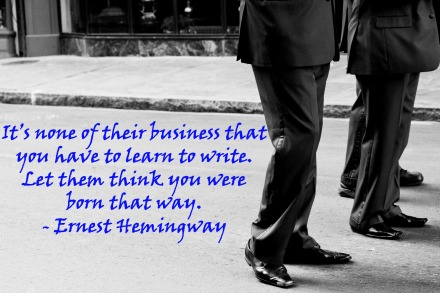Writer's Quote Wednesday - Ernest Hemingway