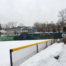 Softball Field - First Day of Spring 2015