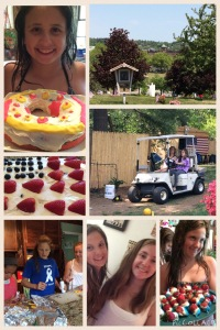 A Collage of Our Memorial Day Weekend.